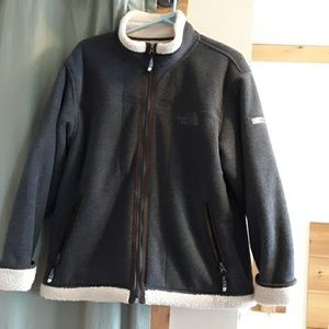 The North Face Fleece with Sherpa lining